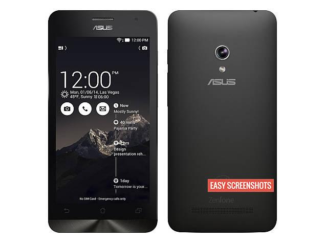Hardware Combination to Take Screenshot On Asus Zenfone 5, Take Screenshot On Asus Zenfone 5 using Screenshot Toggle