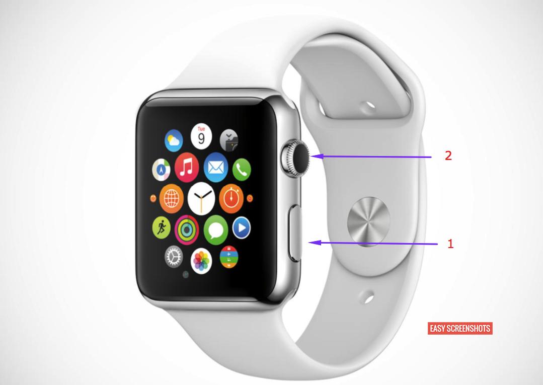 Apple Watch Screenshot Take, Take Screenshot On Apple iWatch 1, Take Screenshot on iphone i watch 2