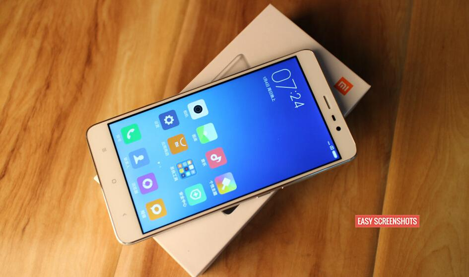 Easy Guide to Take Screenshot on Redmi Note 3