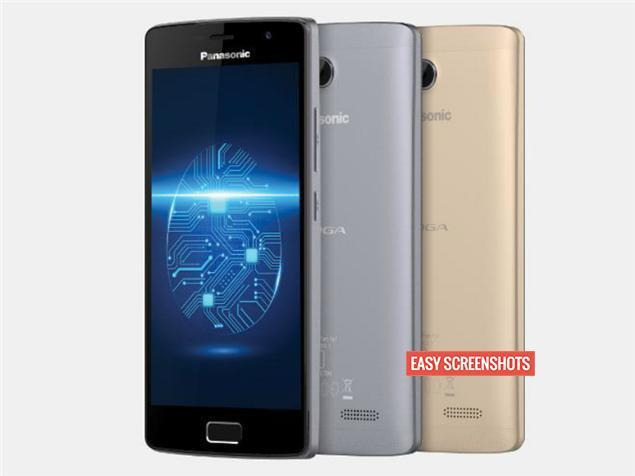 Take Screenshot On Panasonic Eluga Tapp