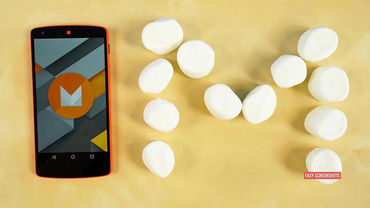Screen Capture android6.0, take screenshot on marshmallow