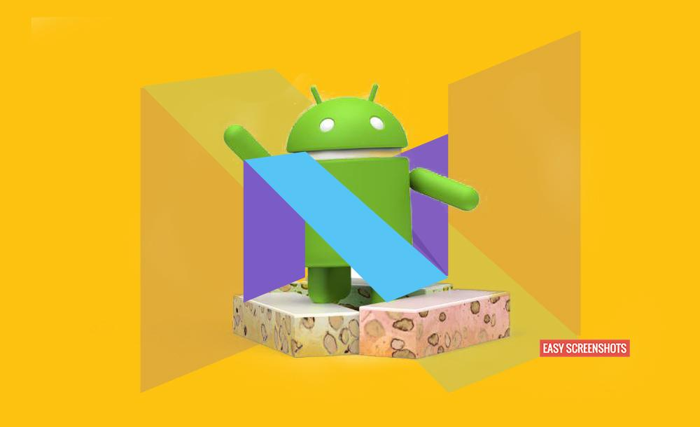 Take Screenshot On Android 7 Nougat, Nougat 7 Take Screenshot