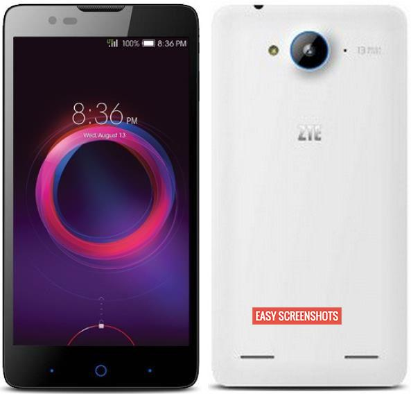 how to take screenshot in ZTE V5 Lux