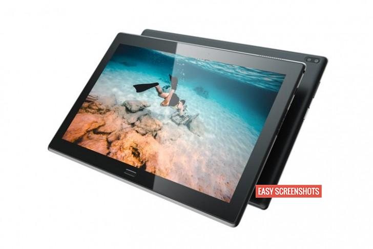 Easy methods to take screenshot on Lenovo Tab 4 8 Plus