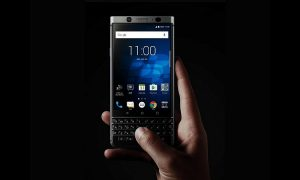 how to take screenshot on BlackBerry KeyOne
