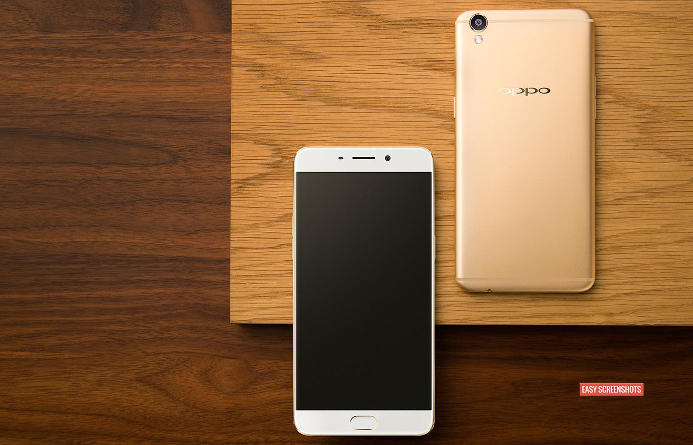 how to take screenshot on oppo r9